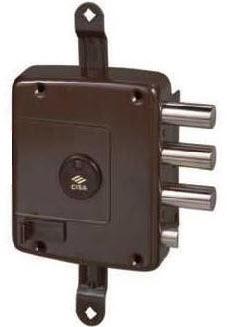 Fechaduras Cisa com chaves de duplo palhetão ou sistema de cilindro
