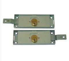 Fechadura para portas onduladas e grades metalicas de lojas