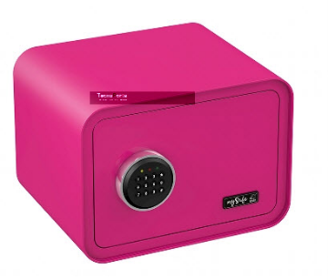 Cofre de segurança Cor de rosa